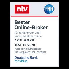 ntv FHM Bester Online Broker